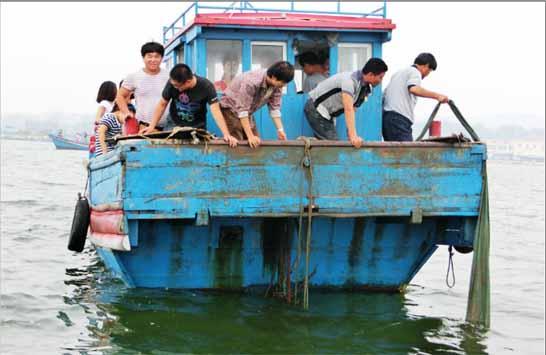 北戴河打渔