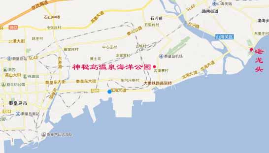 秦皇岛神秘岛温泉戏水乐园