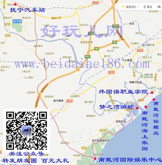 秦皇岛抚宁区公交车803路高清图片