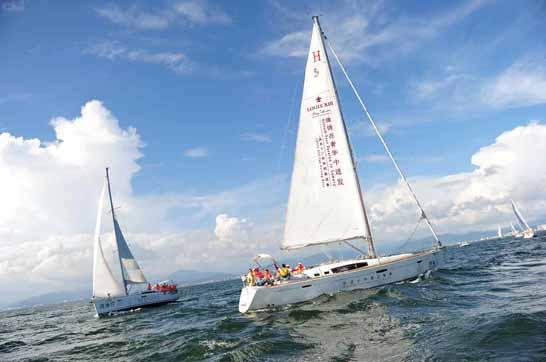 北戴河帆船出海多少钱