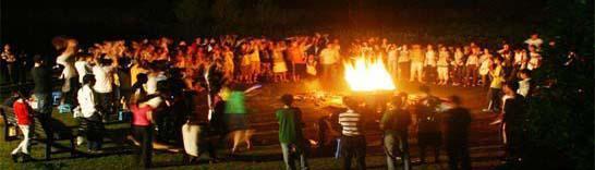 北戴河篝火晚会,南戴河篝火,黄金海岸篝火