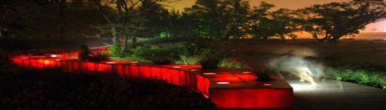 北戴河旅游网--红飘带; 秦皇岛旅游网,红飘带,世界建筑新7大奇迹;