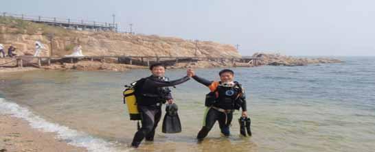北戴河潜水,北戴河潜水游记,北戴河好玩的项目