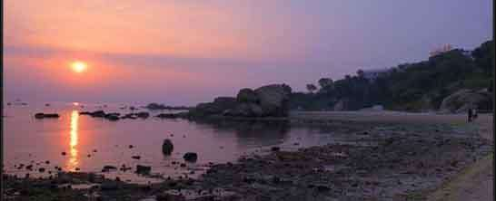 秦皇岛看日落,时间表,地点