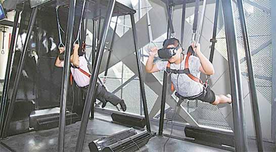 军界·秦皇岛军事科学教育VR基地