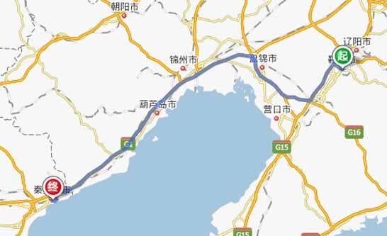 鞍山到秦皇岛自驾游,路线,距离,费用,攻略