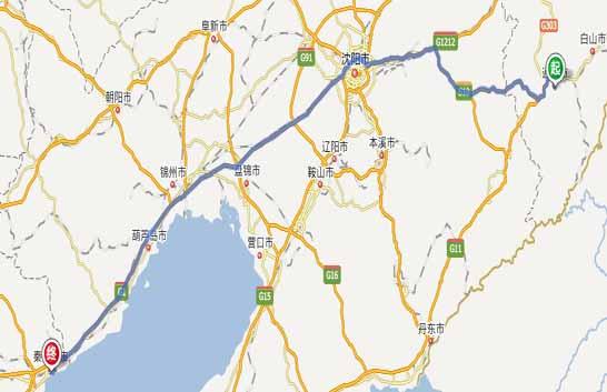 通化到秦皇岛自驾游攻略路线旅游