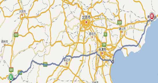 忻州到秦皇岛自驾游,路线,距离,费用,攻略