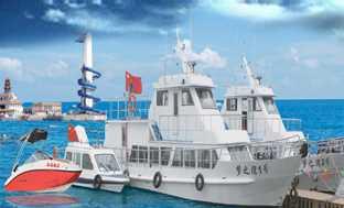 南戴河豪华游艇.打渔