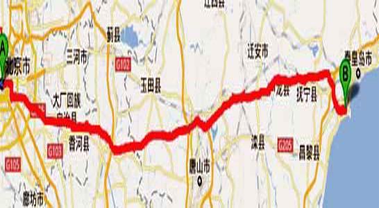 北京到南戴河,自驾游,攻略,路线,费用