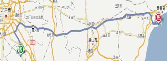 最佳廊坊到北戴河自驾游路线——天津沿海高速