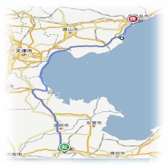 淄博到北戴河秦皇岛南戴河自驾游最佳路线